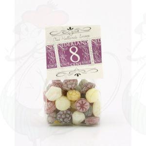 Früchteteemischung | Alte holländische Süßigkeiten | 125 Gramm