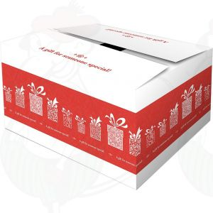 Liefer-Box Überraschung rot