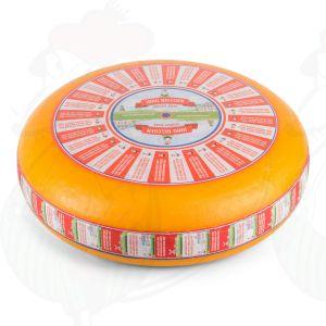 Jung gereifter Gouda Käse | Ganzer Käse 12 kilo | Premium Qualität