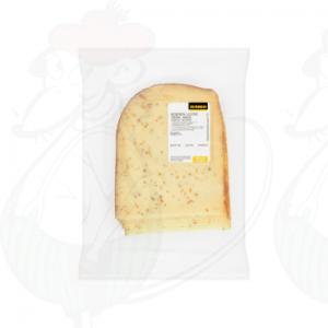 Schnittkäse bauernkäse 30+ Gereifter mit Kreuzkümmel | 200 gram in Scheiben