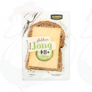 Schnittkäse Gouda 48+ Jung | 190 gram in Scheiben
