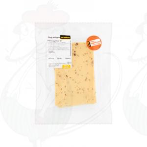 Schnittkäse Friesischer Nelkenkäse 40+ Jung Gereifter   200 gram in Scheiben