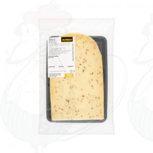 Schnittkäse Wapenaer mit Kreuzkümmel 48+ | 200 gram in Scheiben