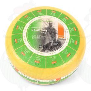 Jung Gouda Biodynamische Käse - Demeter | Ganzer Käse 5 Kilo