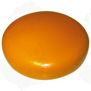 Käsedummy Gouda (Modell) - dunkelgelb - 16 Kg