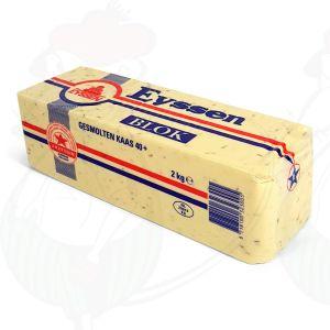 Geschmolzene crustless Gouda Käse Kreuzkümmel 40+ | Premium Qualität