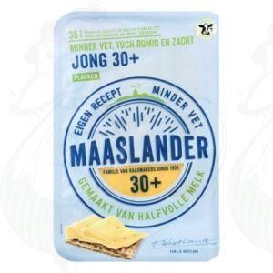 SchnittkäseMaaslander Jung 30+ | 175 gram in Scheiben