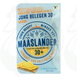 SchnittkäseMaaslander Jung Gereifter 30+ | 175 gram in Scheiben