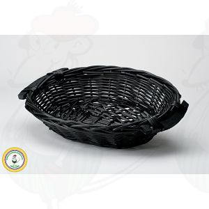 Käse Basket Black 38x28x8