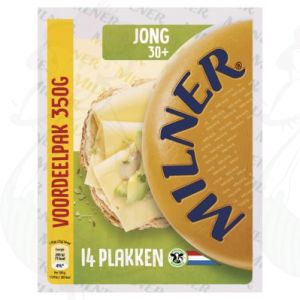 SchnittkäseMilner Jung 30+ | 350 gram in Scheiben