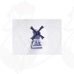 Delfter Blau Mühle Kerzenlampe