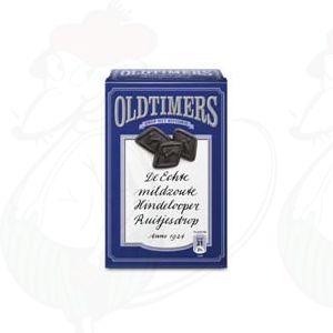 Oldtimers Lakritz Hindelooper Ruitjesdrop - 225 gram