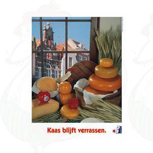 Poster kaas blijft verassen 3 - A2