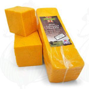 Roter Cheddar-Käse - Mild
