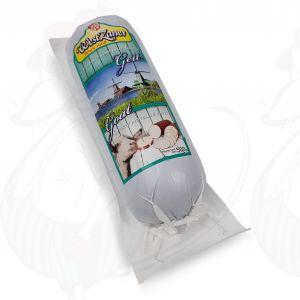 Geräucherter Ziegenkäse Wurst | 500 Gramm | Premium Qualität