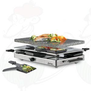 Spring - Raclette8 klassische Aluminium-Grillplatte